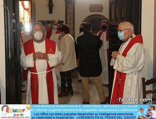 Solemne eucaristía con motivo de la festividad de la Patrona de Totana, Santa Eulalia de Mérida 2020 - 6