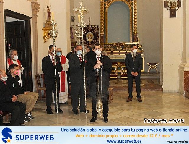 Solemne eucaristía con motivo de la festividad de la Patrona de Totana, Santa Eulalia de Mérida 2020 - 7