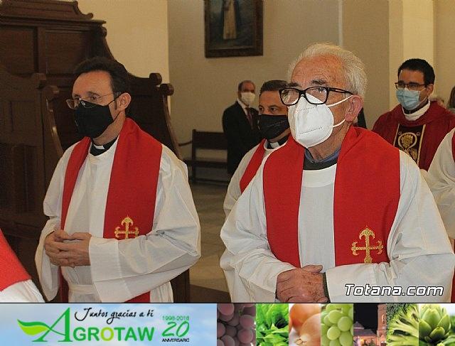 Solemne eucaristía con motivo de la festividad de la Patrona de Totana, Santa Eulalia de Mérida 2020 - 16