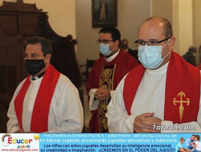 Solemne eucaristía con motivo de la festividad de la Patrona de Totana, Santa Eulalia de Mérida 2020 - 17