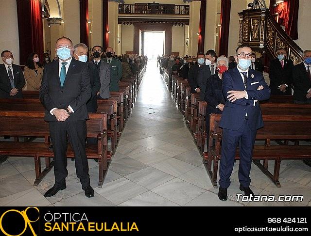 Solemne eucaristía con motivo de la festividad de la Patrona de Totana, Santa Eulalia de Mérida 2020 - 20