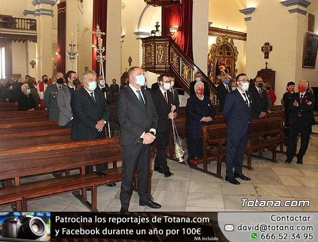 Solemne eucaristía con motivo de la festividad de la Patrona de Totana, Santa Eulalia de Mérida 2020 - 21