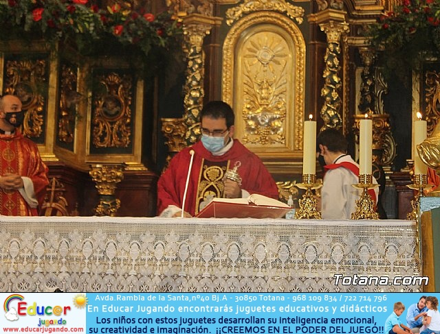 Solemne eucaristía con motivo de la festividad de la Patrona de Totana, Santa Eulalia de Mérida 2020 - 22