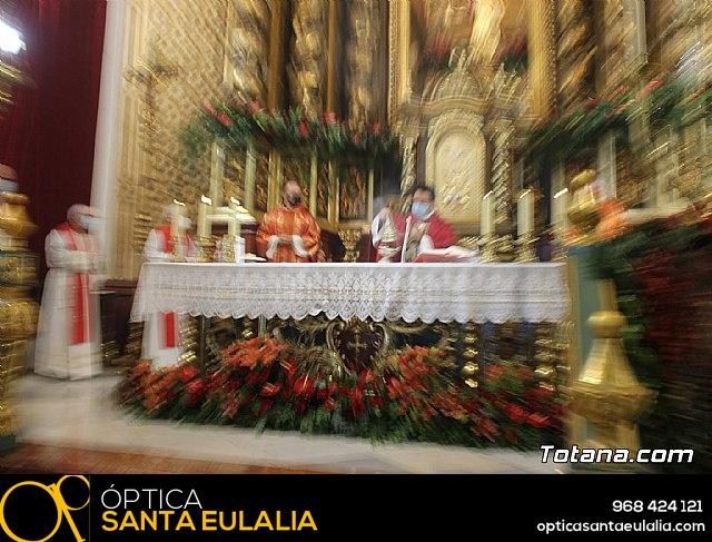 Solemne eucaristía con motivo de la festividad de la Patrona de Totana, Santa Eulalia de Mérida 2020 - 23