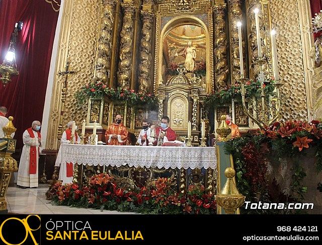 Solemne eucaristía con motivo de la festividad de la Patrona de Totana, Santa Eulalia de Mérida 2020 - 24