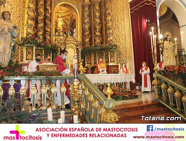 Solemne eucaristía con motivo de la festividad de la Patrona de Totana, Santa Eulalia de Mérida 2020 - 25