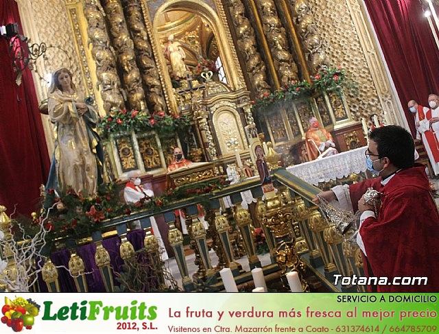 Solemne eucaristía con motivo de la festividad de la Patrona de Totana, Santa Eulalia de Mérida 2020 - 26