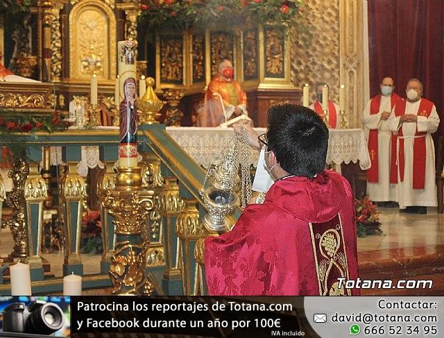 Solemne eucaristía con motivo de la festividad de la Patrona de Totana, Santa Eulalia de Mérida 2020 - 27