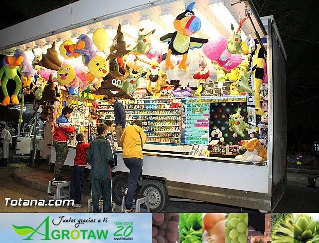 Feria de atracciones - Fiestas de Santa Eulalia 2016 - 18