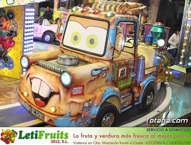 Feria de atracciones - Fiestas de Santa Eulalia 2018 - 13