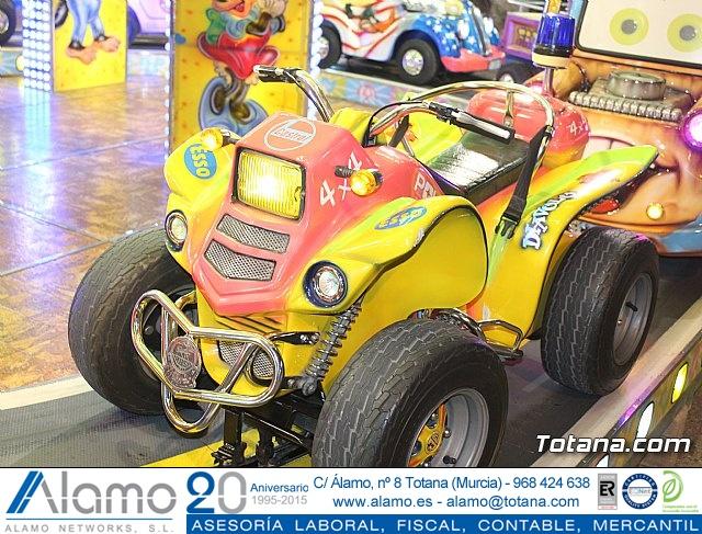 Feria de atracciones - Fiestas de Santa Eulalia 2018 - 14