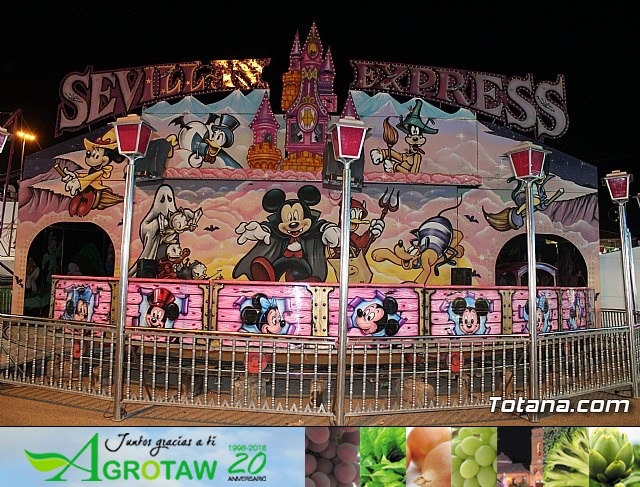 Feria de atracciones - Fiestas de Santa Eulalia 2018 - 18