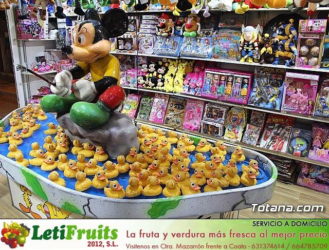 Feria de atracciones - Fiestas de Santa Eulalia 2018 - 19