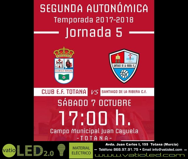 Senior Club E.F. Totana Vs Santiago de la Ribera C.F. (5 - 1) - 1