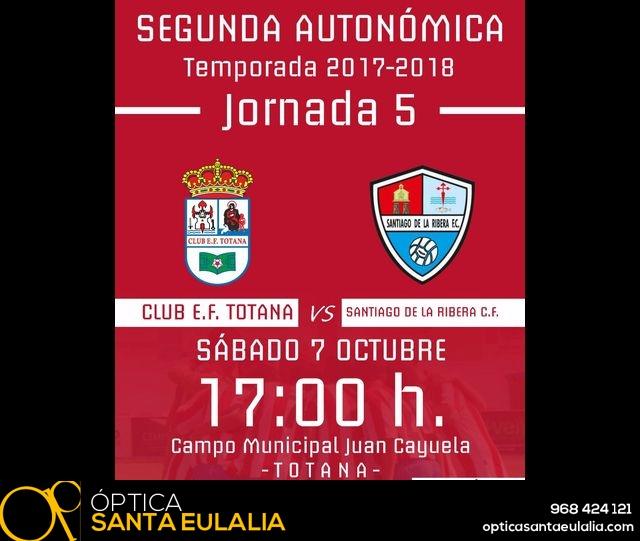 Senior Club E.F. Totana Vs Santiago de la Ribera C.F. (5 - 1) - 1