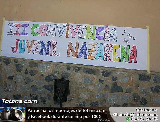 III Convivencia de Jóvenes Nazarenos de Totana - 8
