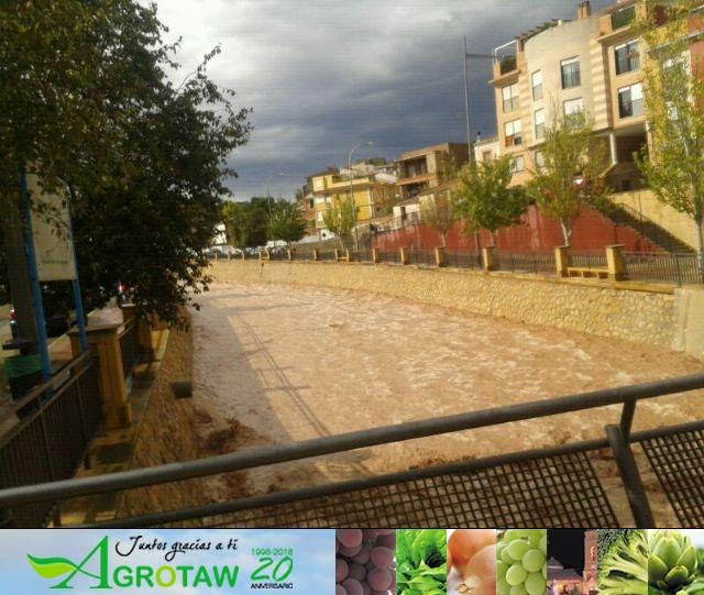 Lluvias torrenciales en Totana - 28 de Septiembre de 2012 - 75