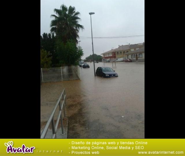 Lluvias torrenciales en Totana - 28 de Septiembre de 2012 - 76