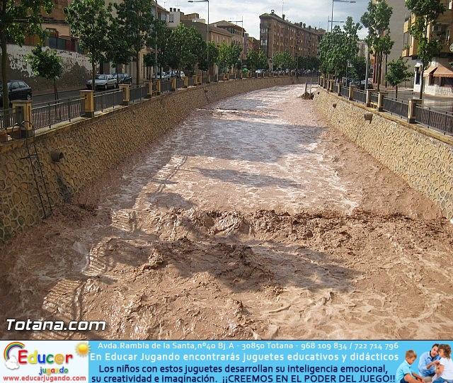 Lluvias torrenciales en Totana - 28 de Septiembre de 2012 - 3