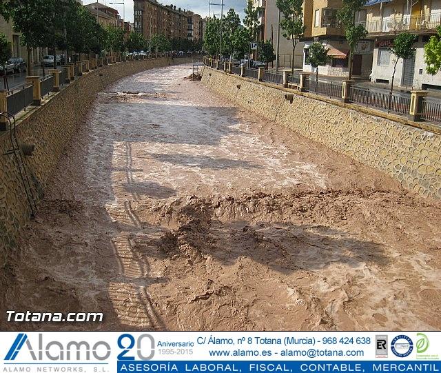 Lluvias torrenciales en Totana - 28 de Septiembre de 2012 - 5
