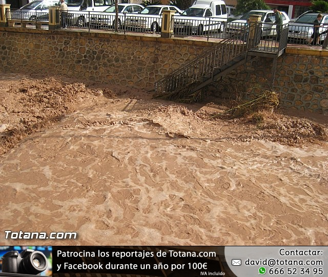 Lluvias torrenciales en Totana - 28 de Septiembre de 2012 - 18