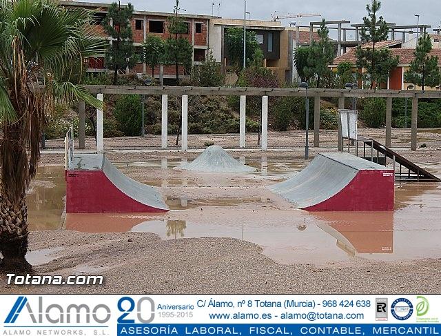 Lluvias torrenciales en Totana - 28 de Septiembre de 2012 - 25