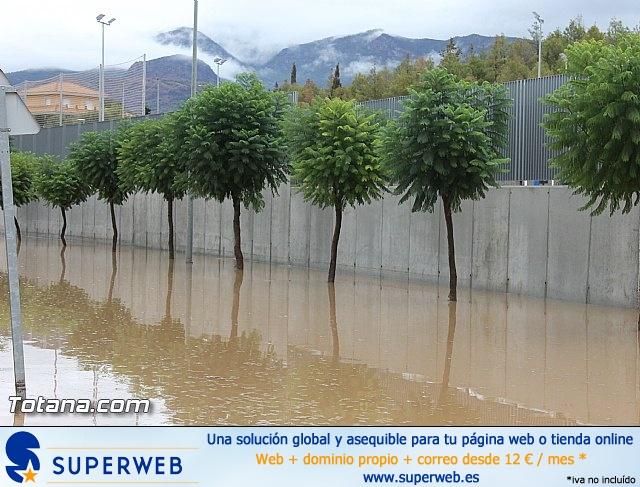 Lluvias torrenciales en Totana - 28 de Septiembre de 2012 - 28
