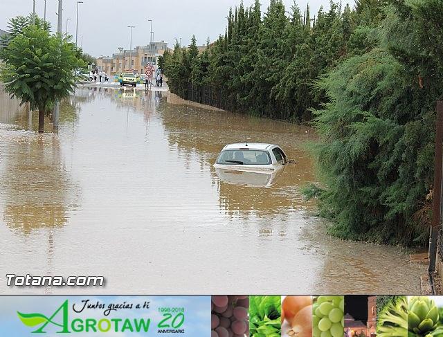 Lluvias torrenciales en Totana - 28 de Septiembre de 2012 - 32