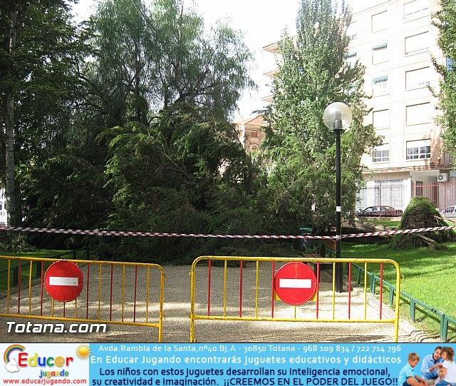 Lluvias torrenciales en Totana - 28 de Septiembre de 2012 - 34