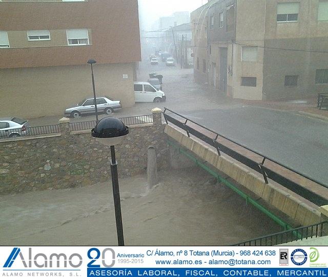 Lluvias torrenciales en Totana - 28 de Septiembre de 2012 - 50
