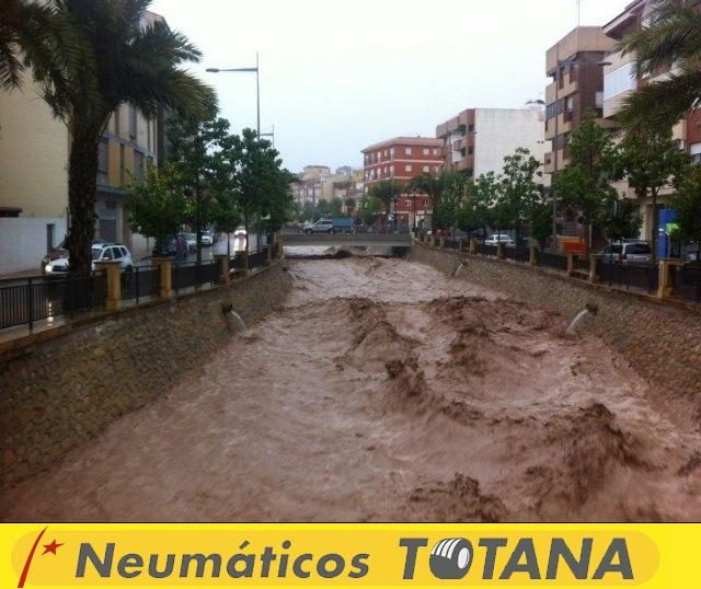 Lluvias torrenciales en Totana - 28 de Septiembre de 2012 - 52
