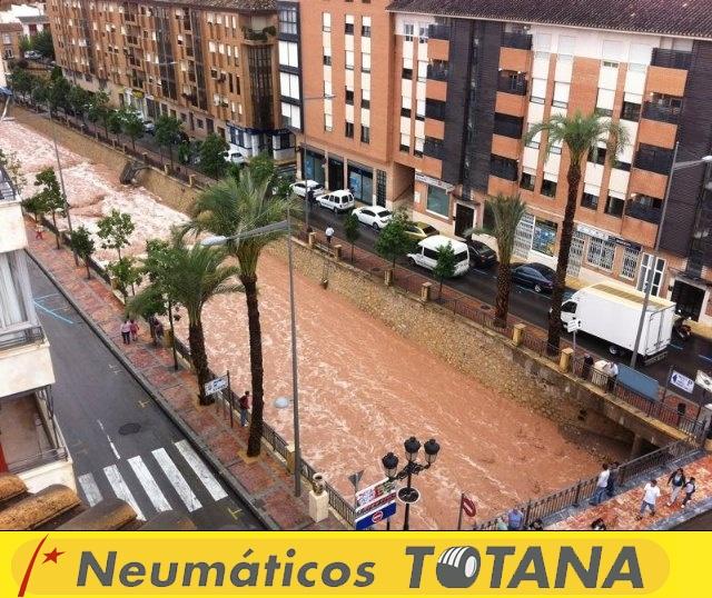 Lluvias torrenciales en Totana - 28 de Septiembre de 2012 - 60