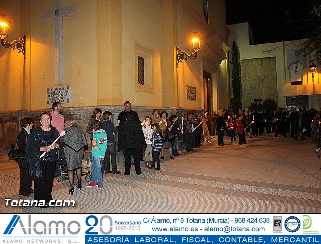 Procesión penitencial Lunes Santo 2015 - 15