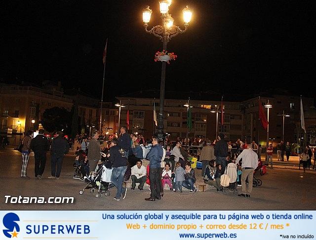 Traslado de pasos. Noche del Lunes Santo 2014 - 2