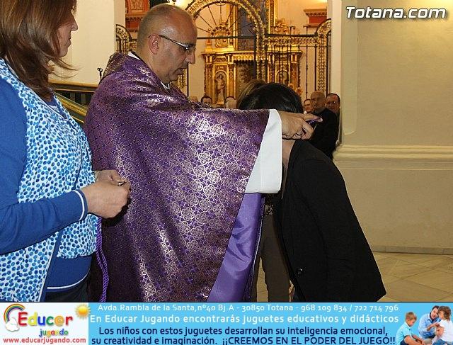 Imposición de escapularios y hermanamiento Stmo Cristo de la Agonía - 31