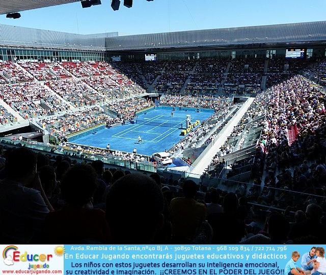 La Escuela de Tenis del Club de Tenis Totana en el Madrid Open - 27