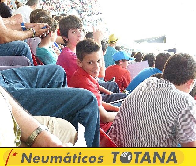 La Escuela de Tenis del Club de Tenis Totana en el Madrid Open - 28