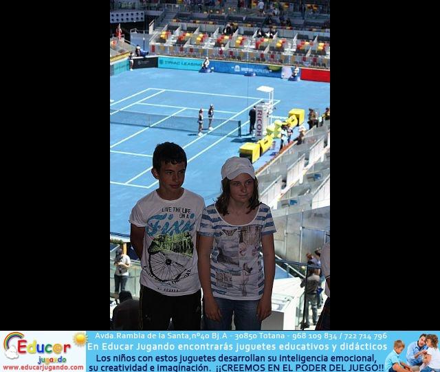 La Escuela de Tenis del Club de Tenis Totana en el Madrid Open - 35