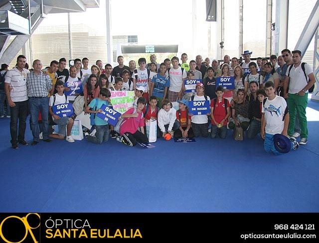 La Escuela de Tenis del Club de Tenis Totana en el Madrid Open - 47