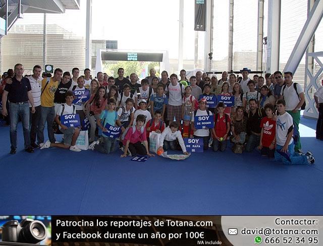 La Escuela de Tenis del Club de Tenis Totana en el Madrid Open - 48