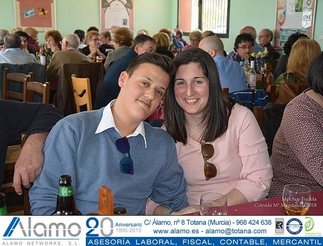 Comida gala Hermandad de Santa María Magdalena 2018 - 2
