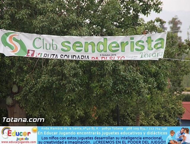 XI Marcha Solidaria Senderista  - 2