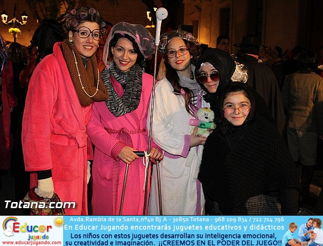 Martes de Carnaval. Calle de las máscaras - Totana 2015 - 5