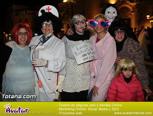 Martes de Carnaval. Calle de las máscaras - Totana 2015 - 7