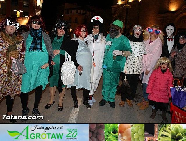 Martes de Carnaval. Calle de las máscaras - Totana 2015 - 9