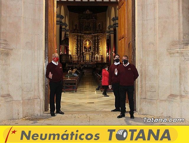 Santa Misa, Día de la Inmaculada Concepción, con la presencia de Santa Eulalia. 8 diciembre 2020 - 4