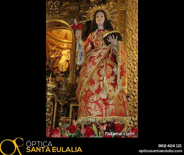Santa Misa, Día de la Inmaculada Concepción, con la presencia de Santa Eulalia. 8 diciembre 2020 - 6