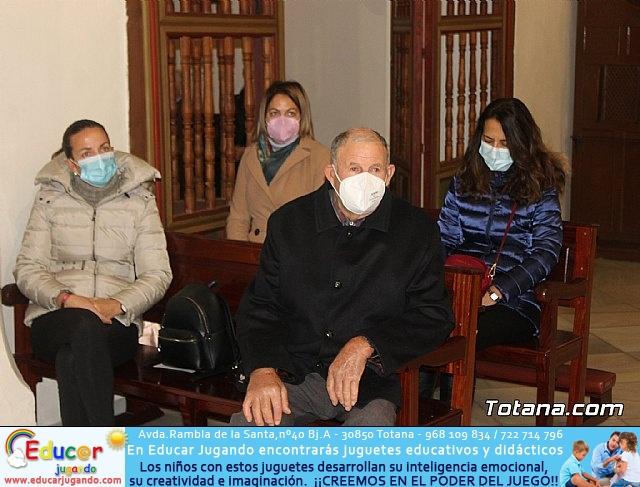 Santa Misa, Día de la Inmaculada Concepción, con la presencia de Santa Eulalia. 8 diciembre 2020 - 8