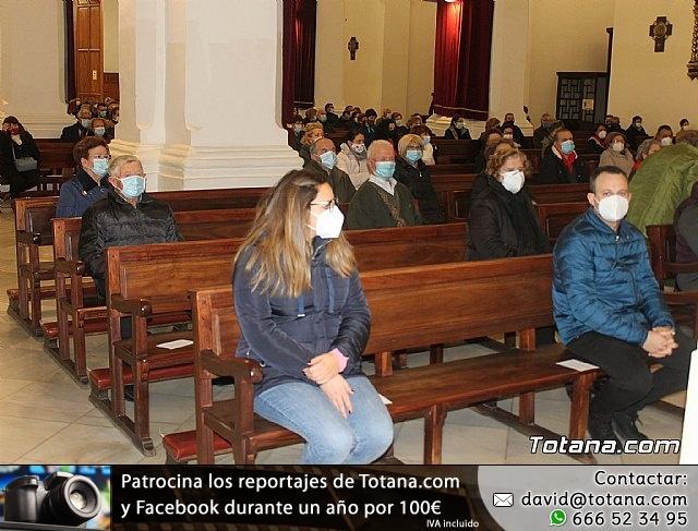 Santa Misa, Día de la Inmaculada Concepción, con la presencia de Santa Eulalia. 8 diciembre 2020 - 9