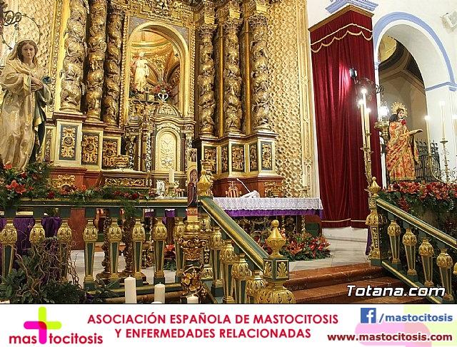 Santa Misa, Día de la Inmaculada Concepción, con la presencia de Santa Eulalia. 8 diciembre 2020 - 13